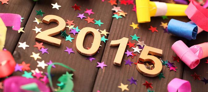2015快乐,蓝叶祝大家2015好。
