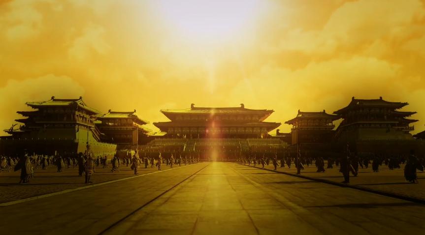 黄昏宫殿视频背景.png