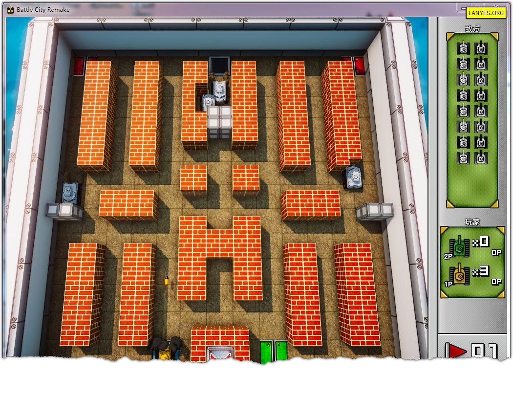 经典单机游戏坦克大战_2.jpg